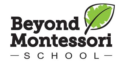 Beyond Montessori School logo